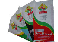 Bopp Laminated 25 Kg Fertilizer Packaging Bags Double Stitched For Seed