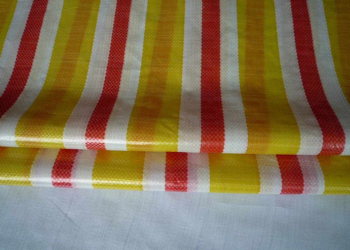 High Strength Woven Polypropylene Fabric , Woven Polypropylene Tube Roll